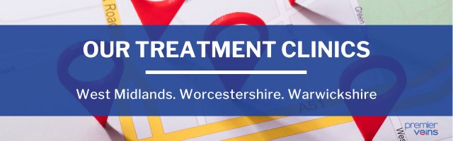 Walk-in-Walk-Out Varicose Vein Clinics - West Midlands & Surrounding Counties